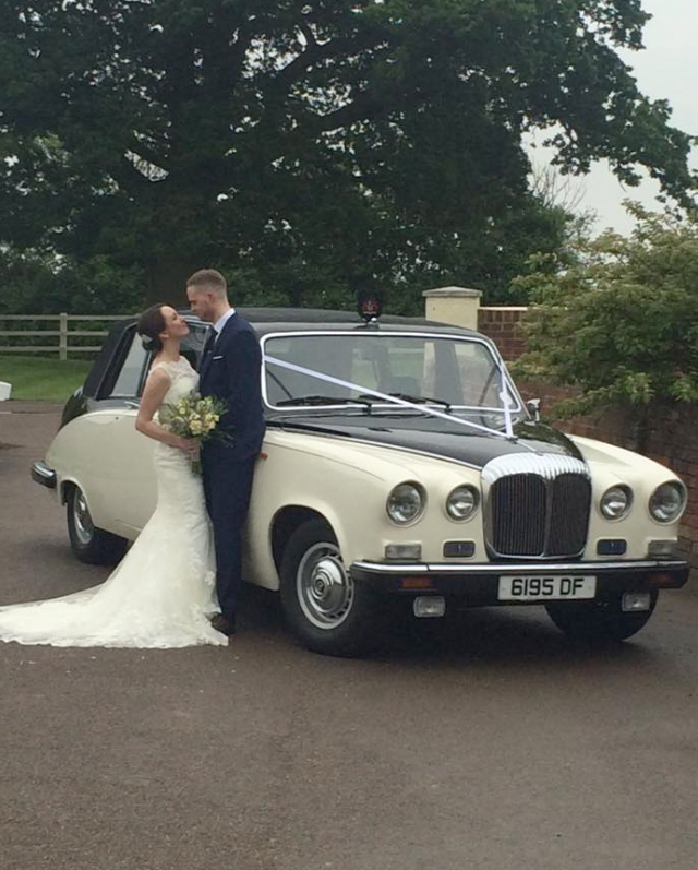 Daimler Wedding Car Essex