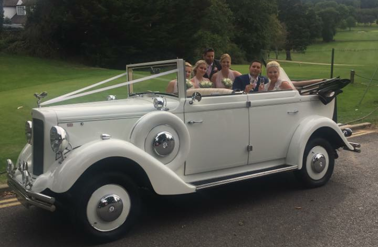 Regent 1930's Style Convertible hire 6 essex