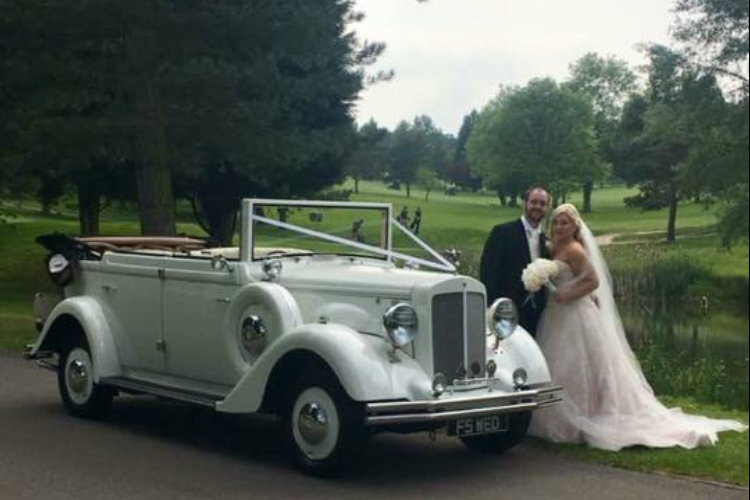 Regent 1930's Style Convertible hire cheshunt