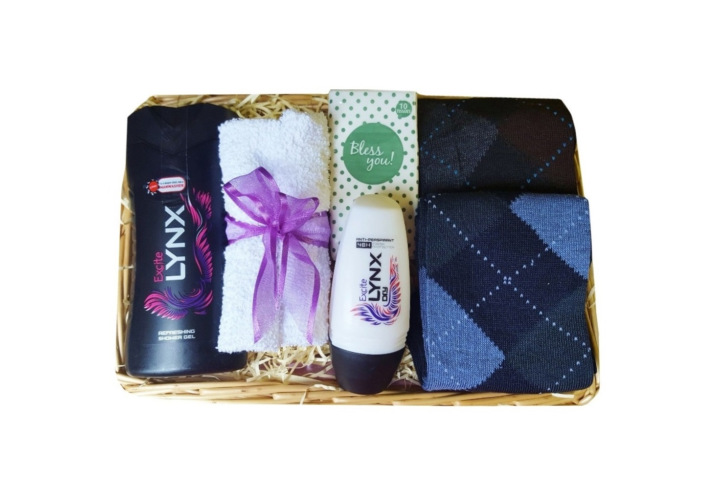 Gift set for Him, with 'Lynx Excite'