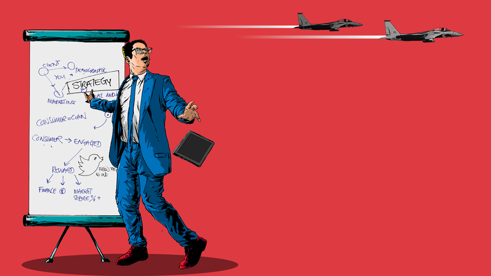 Editorial Illustration - Drone Technology