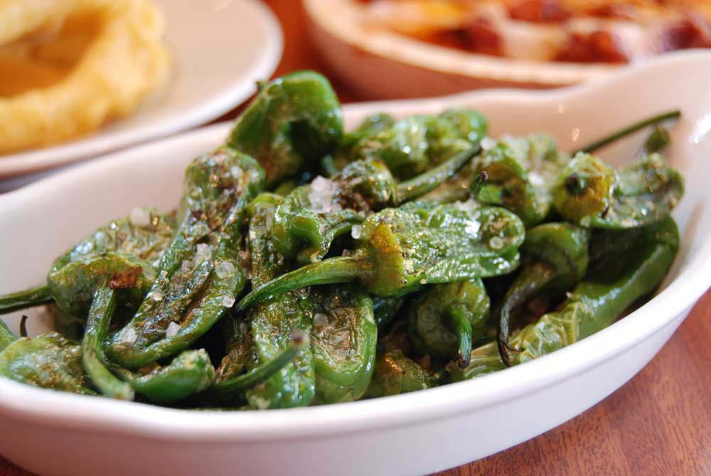 Padron peppers  from Meson Don Felipe