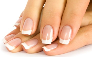 Mooie French manicure
