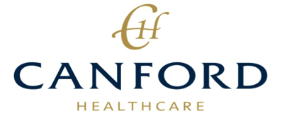 A logo of Canford Healthcare a client of Lynden Consulting Ltd, a strategic marketing and communications company founded by Edna Petzen to help health and social care providers improve their business performance