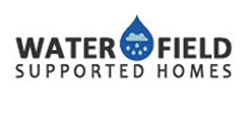 A logo of Waterfield Supported Homes a client of Lynden Consulting Ltd, a strategic marketing and communications company founded by Edna Petzen to help health and social care companies improve their business performance