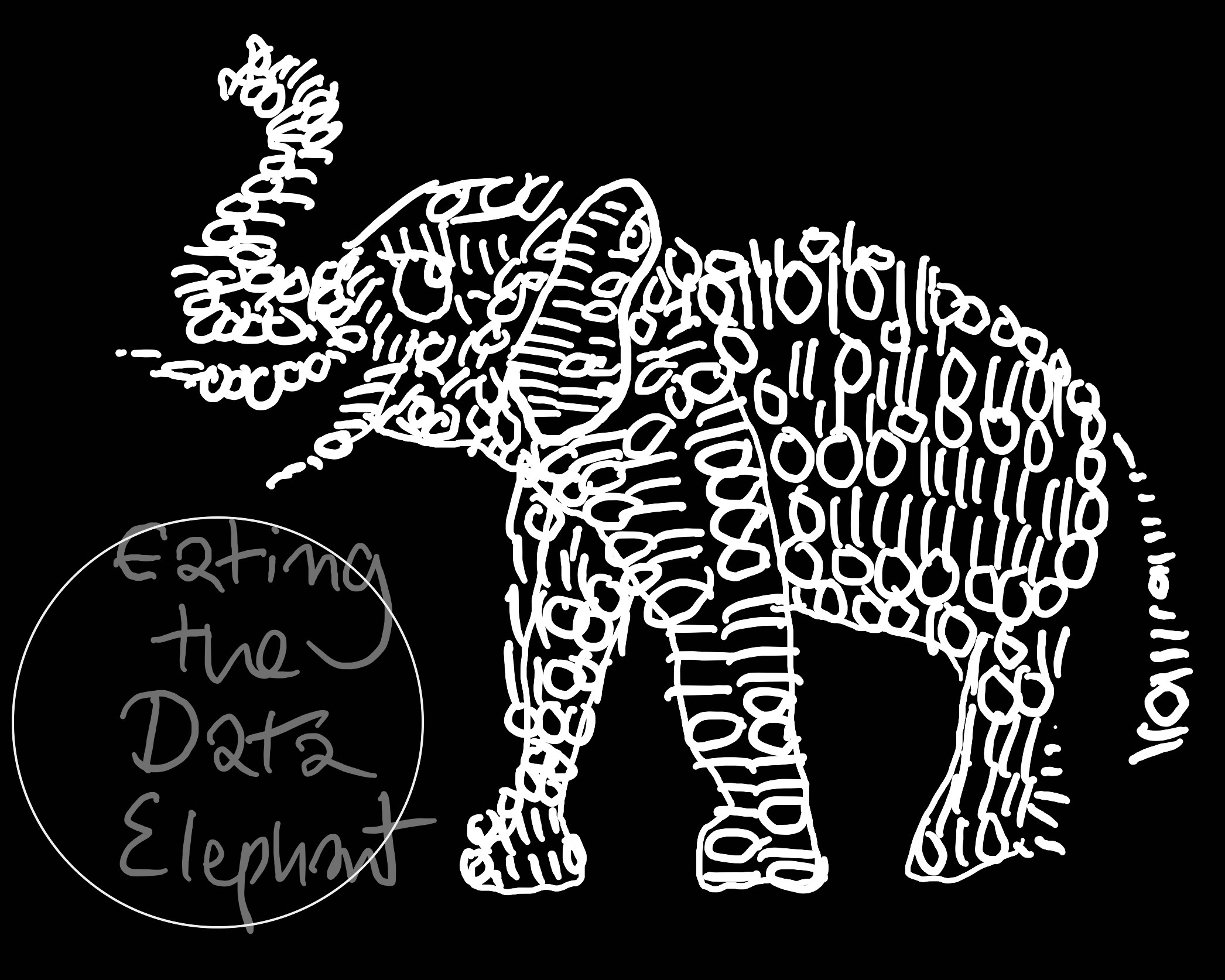 How to Eat the Data Elephant? Cut it into Bytes!