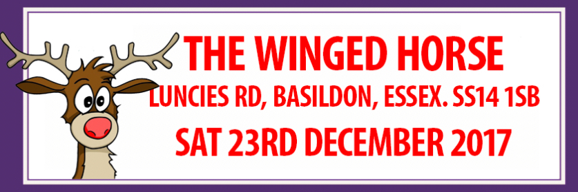 Xmas Party at the Winged Horse, Luncies Road, Basildon, Essex