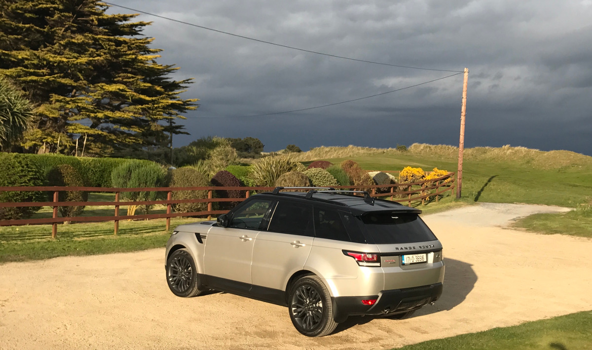 2017 Range Rover Sport - Panoramic Glass Roof