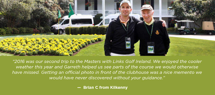 Client Review - Links Golf Ireland