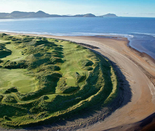 Waterville Golf Links - Aerial