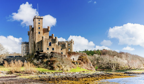 Dunvegan Castle on the North West of Skye
