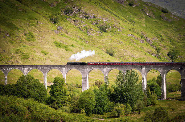 The Harry Potter Train - Jacobite Express.