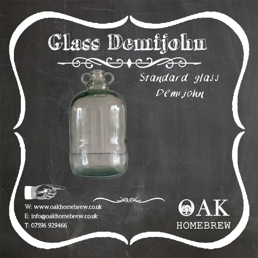 Glass Demijohn