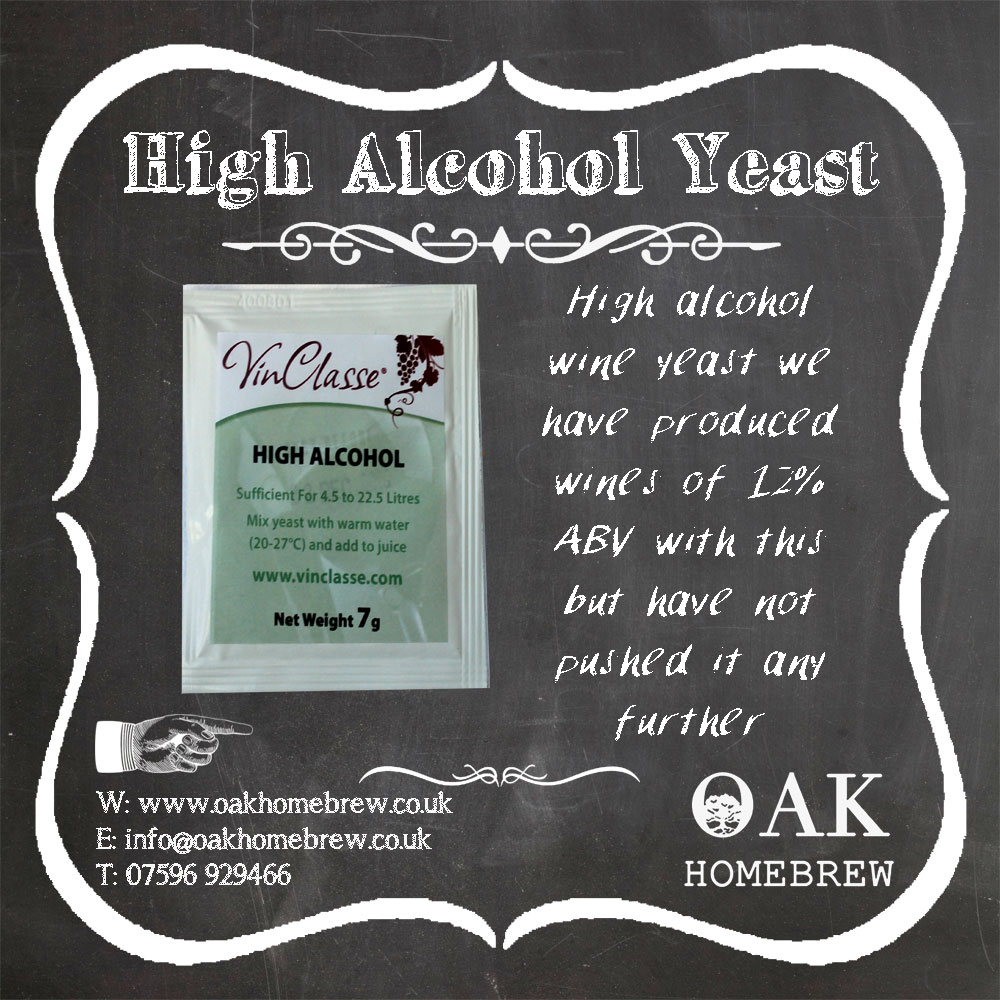 High Alcohol Yeast