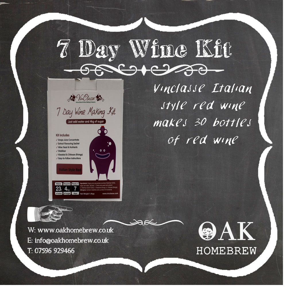 Vinclasse Red Wine Kit