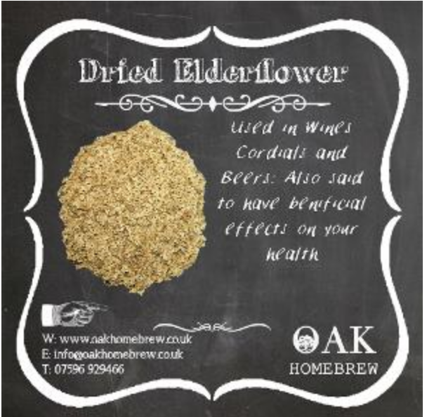 Dried Elderflower 100g