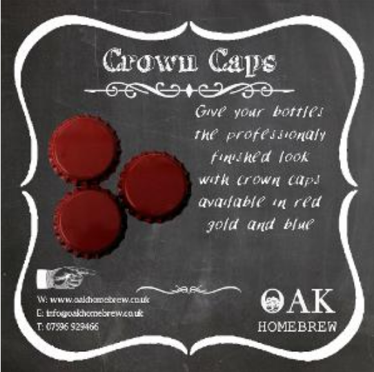 Crown Caps packs of 125