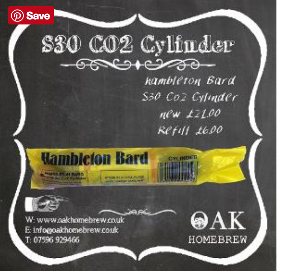 Hambleton Bard Co2 S30 Cylinders