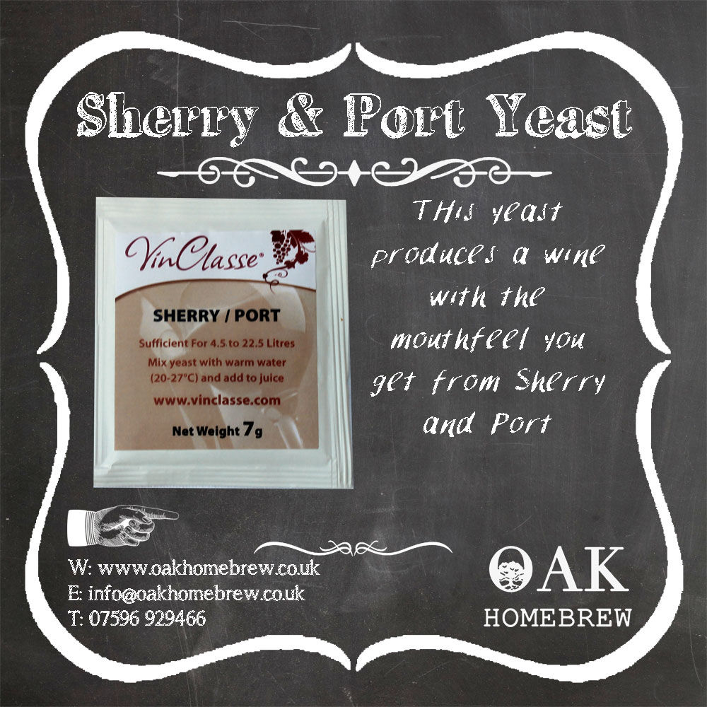 Sherry and Port Yeast