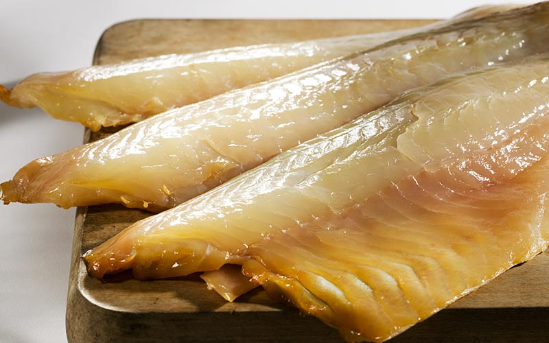 Fresh Naturally Oak Smoked Haddock - (1.1Kg - 1.2Kg) Vacuum Packed