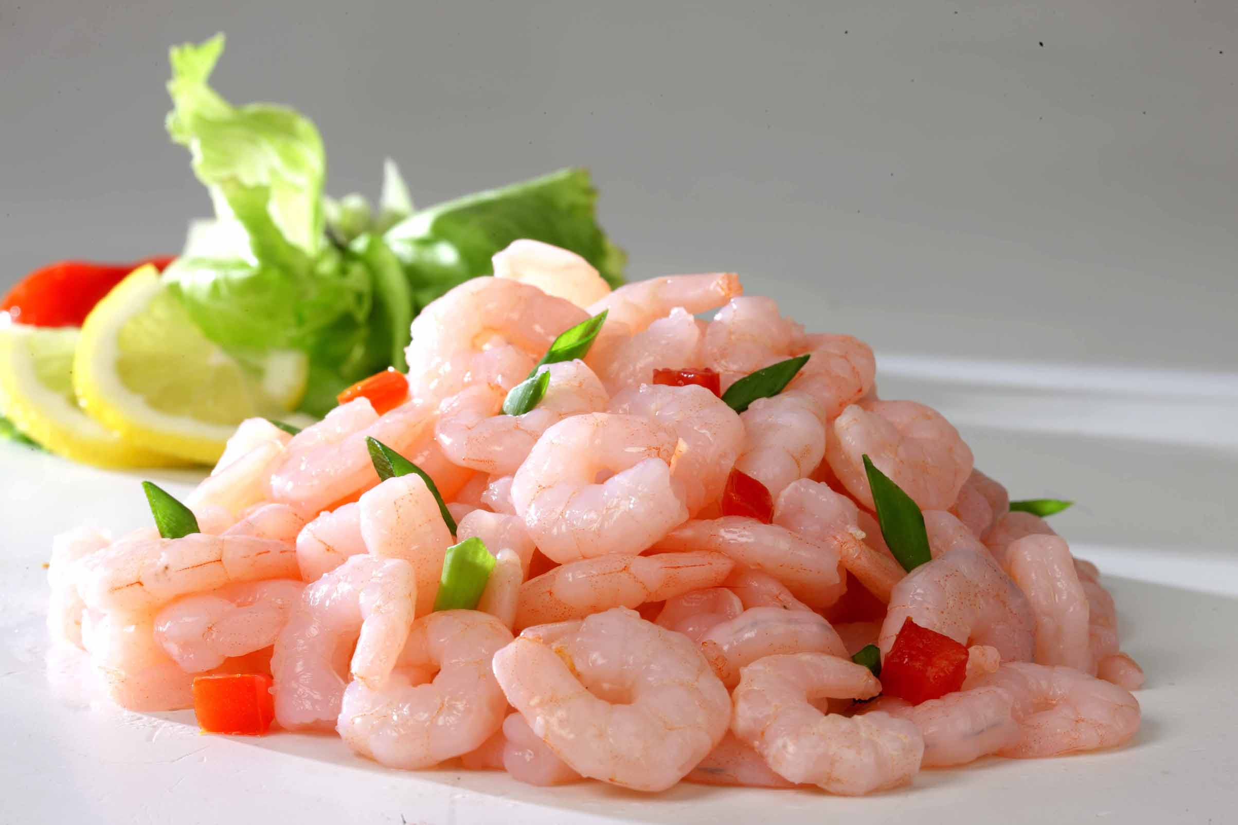 Luxury Prawns ( Salad )