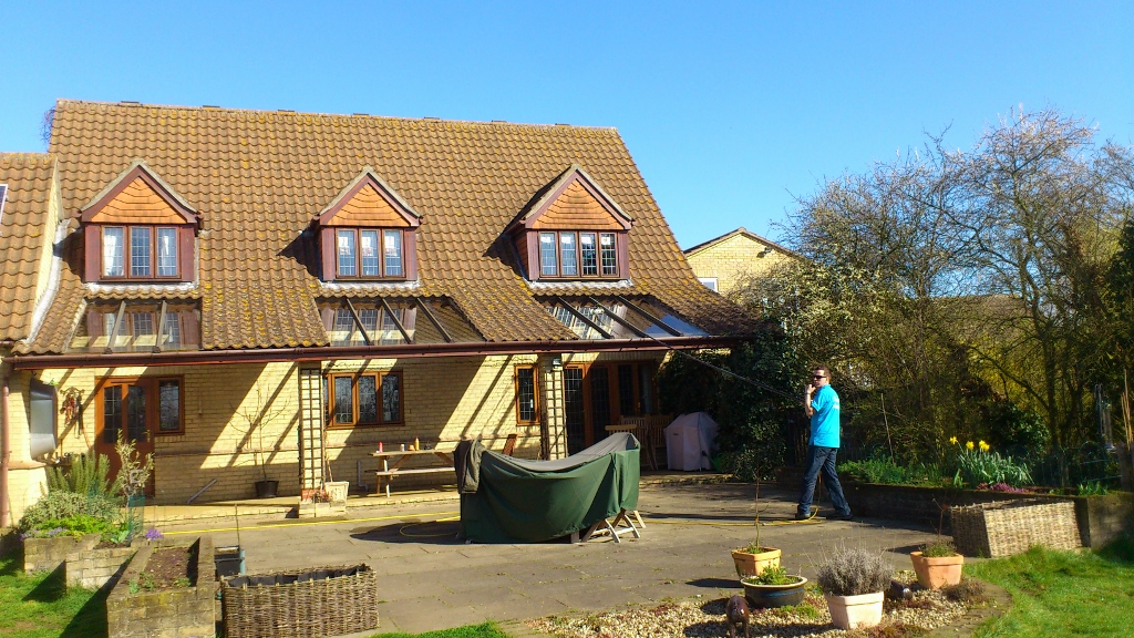 Cleaning of Windows and Glazed Canopy in Aldreth, Ely, Cambridgeshire