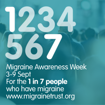 Migraine Awareness Week 3-9th September