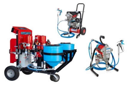 Piston Paint Sprayers, Diaphragm Paint Sprayers and 2 Component Paint Sprayers
