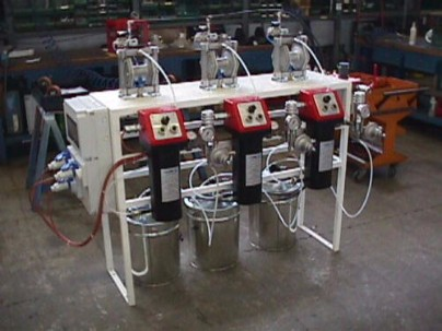 Paint Supply system to feed production line