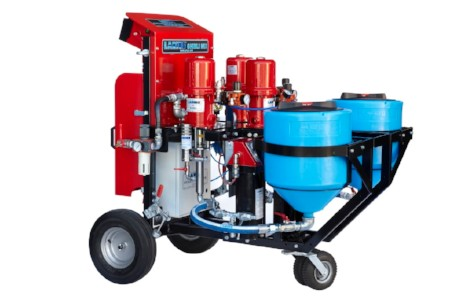 2-Component Metering and mixing paint sprayer