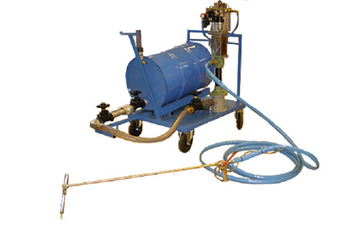 High Capacity System for pumping and spreading of 1-Component Adhesives
