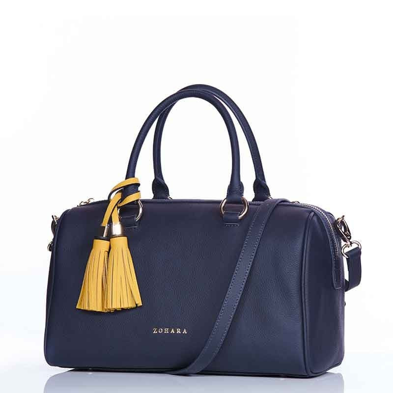 Knightsbridge Bowling Bag by Zohara in Navy