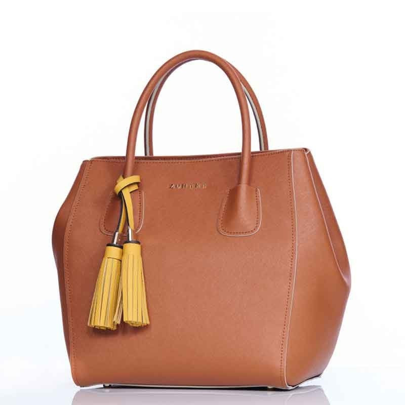 Richmond Handbag by Zohara in Tan