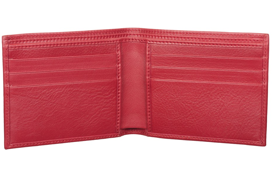 Rosso Wallet by Caracalla 1947 in Red