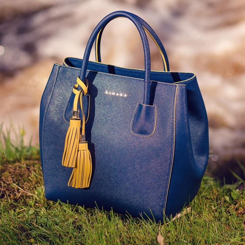 Richmond Handbag by Zohara in Navy