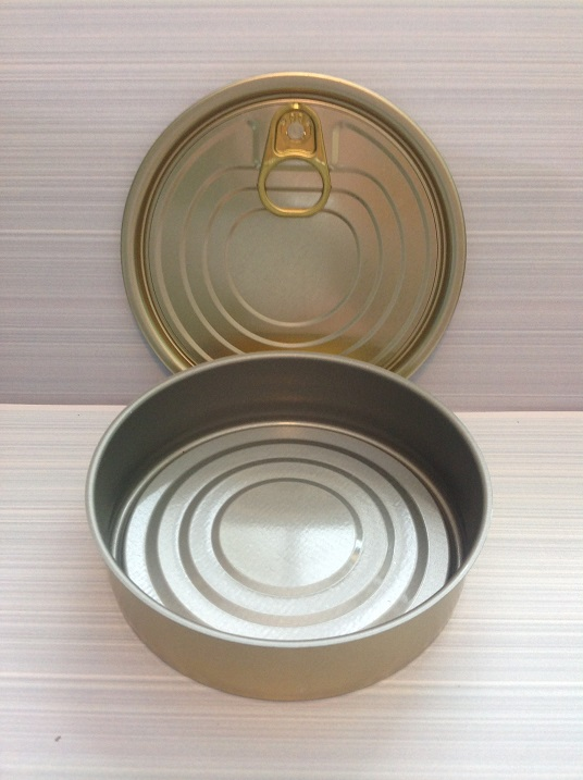 72 In A Box  No2. Tin Can with Ring-pull Lid  diameter 99mm x 27mm high