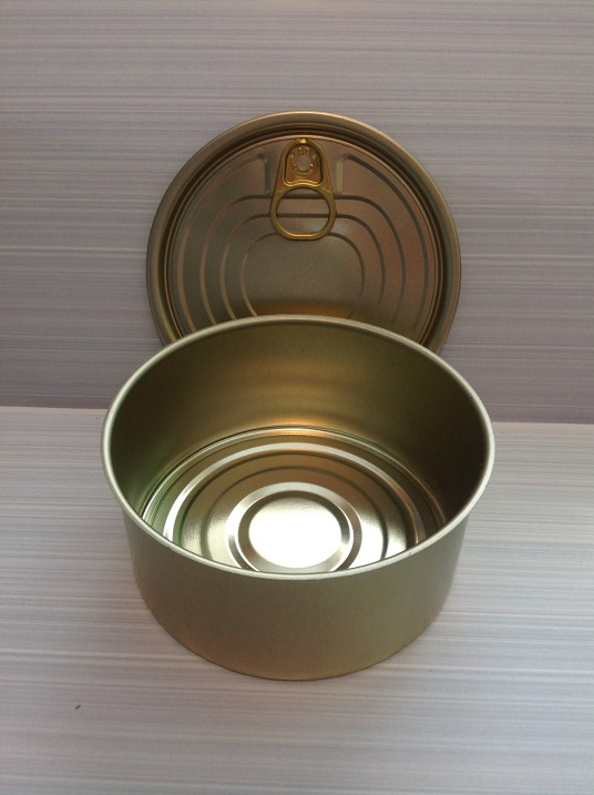48 In A Box No8. Tin Can with Ring-pull Lid diameter 99mm x 52mm high