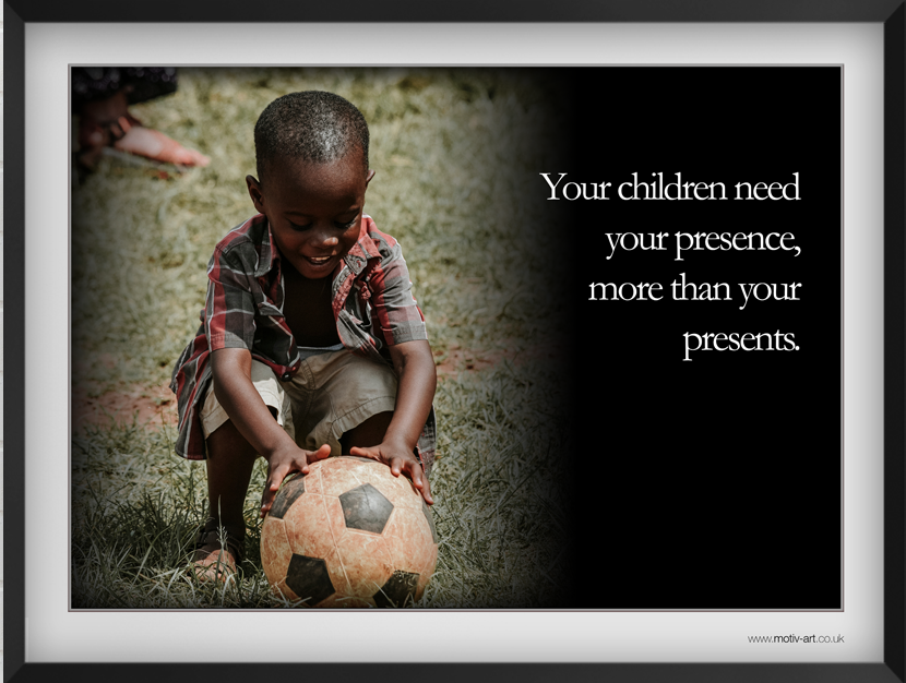 Your children need...