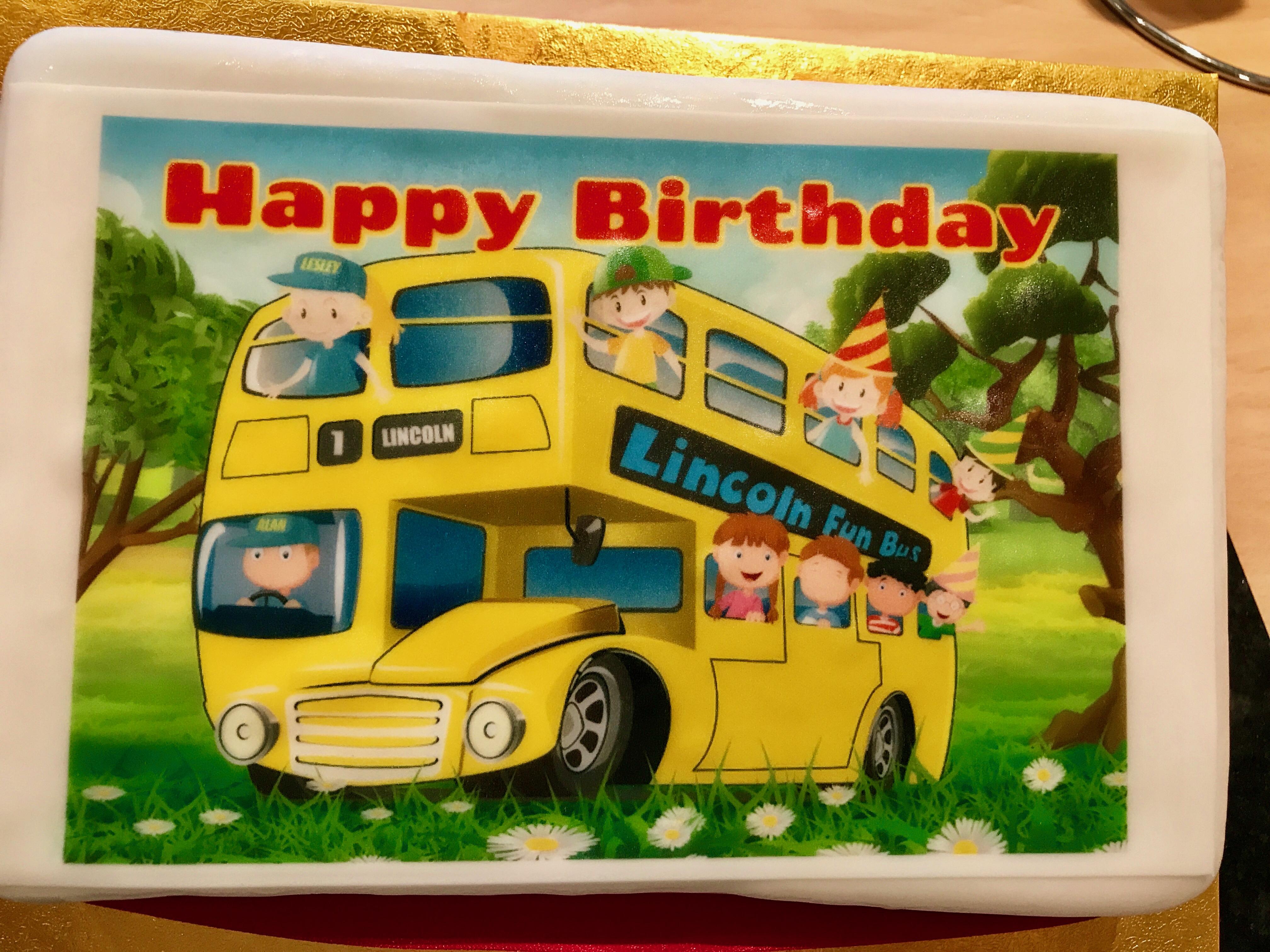 Lincoln Fun Bus