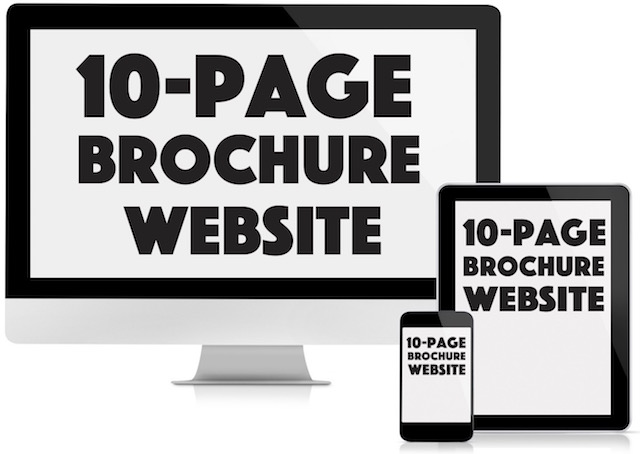 Low cost brochure websites by Great Value Websites