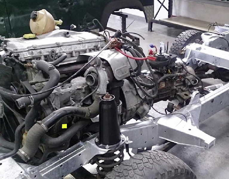 Land Rover engine rebuilds ayrshire Gibsons Auto Services