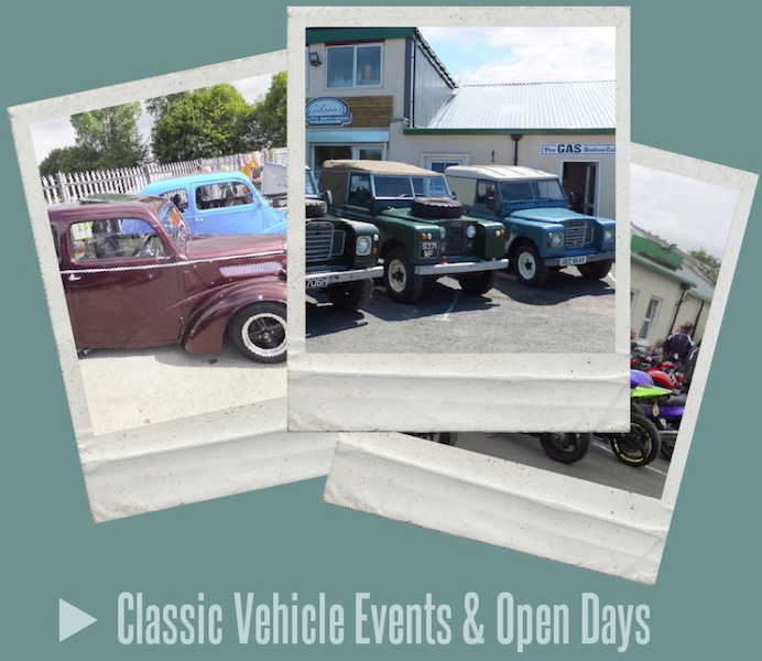 Classic Vehicle Events Ayrshire Scotland