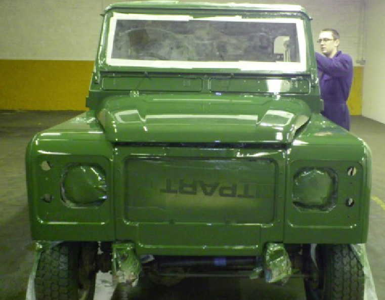Land Rover restorations and rebuilds at Gibsons Auto Services Cumnock