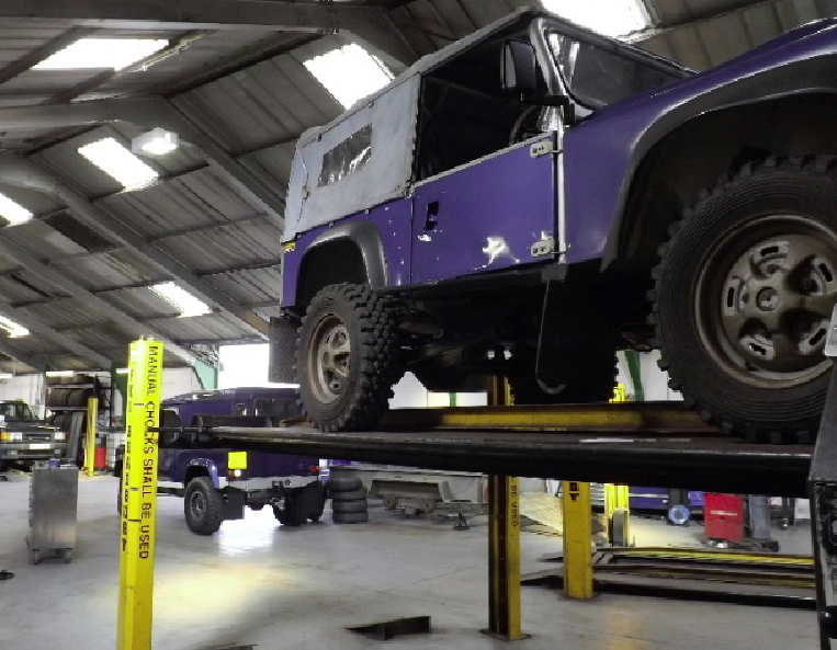 Land Rover repairs and serving Cumnock Ayrshire
