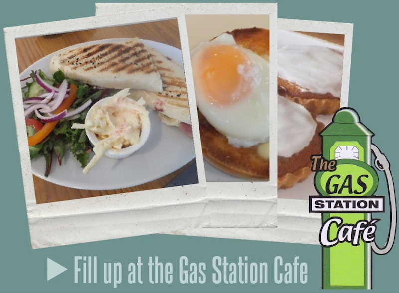 Gas Station Cafe at Gibson Auto Services in Cumnock Ayrshire