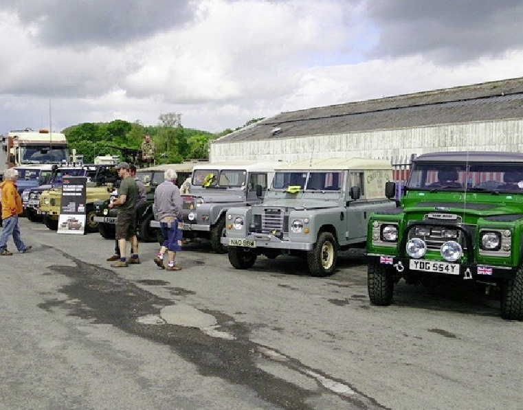 Land Rover events at Gibsons Auto Services Cumnock