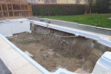 Ristrutturazione piscina a skimmer in cemento o vetroresina for Piscina vetroresina usata