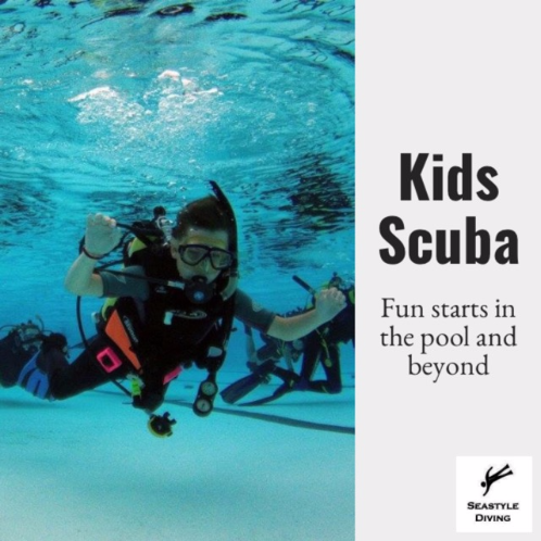 Kids Scuba Bubblemaker, Seal Team and Master Seal Team