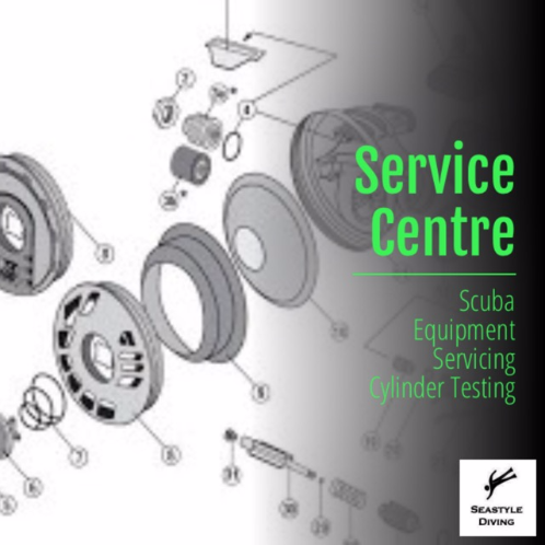 Scuba Equipment onsite servicing