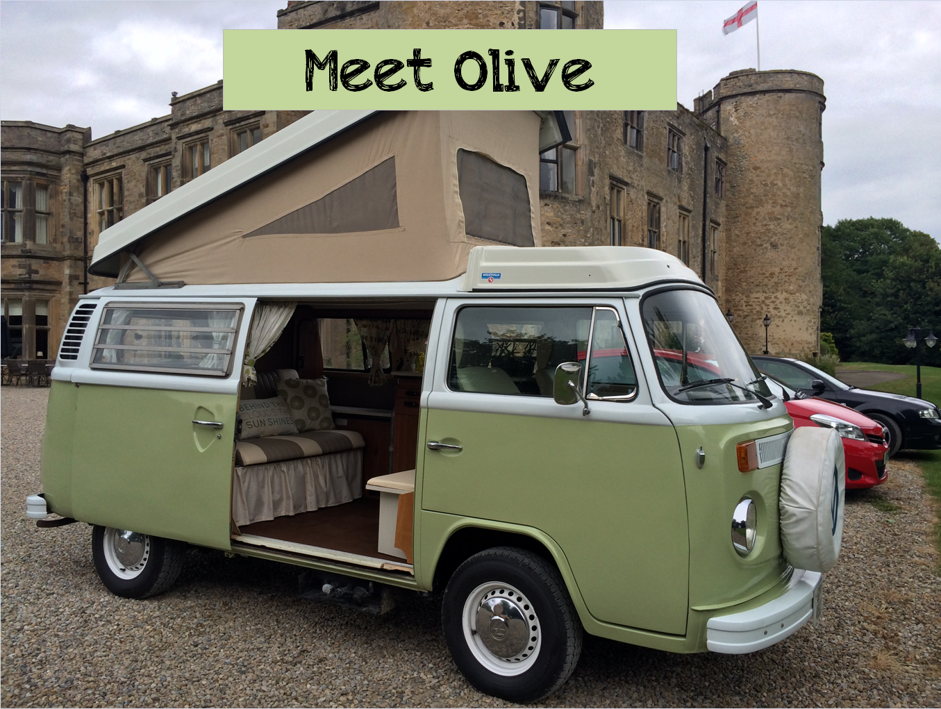 vw campervan hire Olive